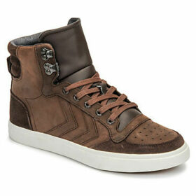 Hummel  STADIL WINTER  women's Shoes (High-top Trainers) in Brown