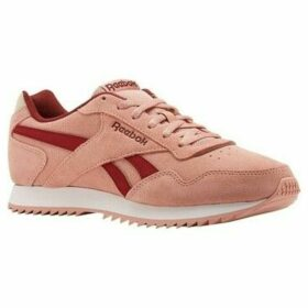 Reebok Sport  Royal Glide Ripple Pink  women's Shoes (Trainers) in Pink