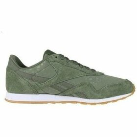 Reebok Sport  CL Nylon Slim Txt L  women's Shoes (Trainers) in Green