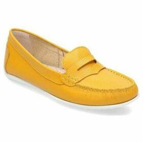 Gino Rossi  DMI344J4905842100X  women's Loafers / Casual Shoes in Yellow