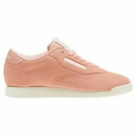Reebok Sport  Princess Woven Embroidered  women's Shoes (Trainers) in Pink