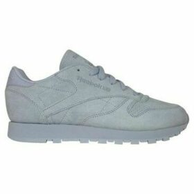 Reebok Sport  Classic Leather Nbk  women's Shoes (Trainers) in Grey