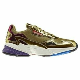 adidas  Falcon  women's Shoes (Trainers) in Gold