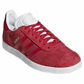 adidas  Gazelle  women's Shoes (Trainers) in Red