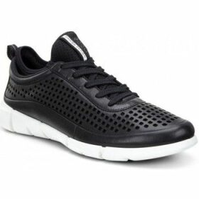 Ecco  Women Intrinsic 1 Low  women's Shoes (High-top Trainers) in Black