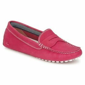 Lacoste  CONCOURS 5  women's Loafers / Casual Shoes in Pink
