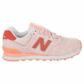 New Balance  WL574SWA  women's Shoes (Trainers) in multicolour