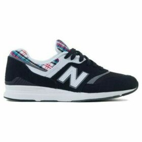 New Balance  697  women's Shoes (Trainers) in Black