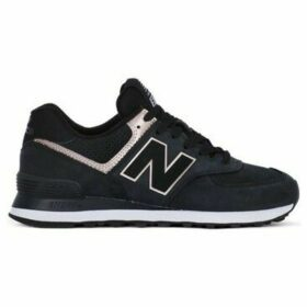 New Balance  574  women's Shoes (Trainers) in Black