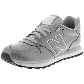 New Balance  500  women's Shoes (Trainers) in Silver