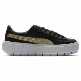 Puma  Platform Trace Varsity Wns  women's Shoes (Trainers) in Black