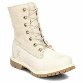 Timberland  Auth Tedy Flce  women's Shoes (High-top Trainers) in Beige