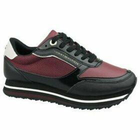 Tommy Hilfiger  Retro Branded  women's Shoes (Trainers) in multicolour