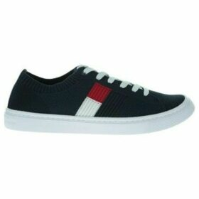 Tommy Hilfiger  Knitted Flag Lightweight  women's Shoes (Trainers) in multicolour