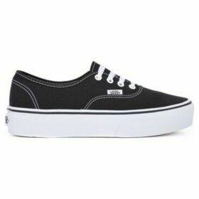 Vans  Authentic Platform  women's Shoes (Trainers) in Black