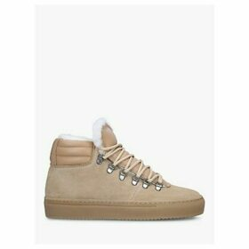 ZESPÀ ZSP2 Mid Top Lace Up Suede Trainers