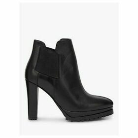 AllSaints Sarris Leather Shoe Boots, Black