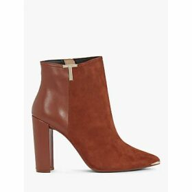 Ted Baker Inala Leather Suede Point Toe Ankle Boots