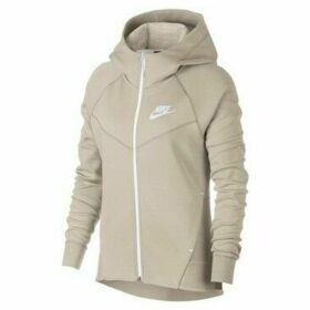 Nike  W Nsw Tch Flc WR Hoodie FZ  women's Sweatshirt in Grey