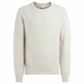 Fjallraven  Greenland Re-Wool sweater in chalk-colored wool  women's Sweater in White