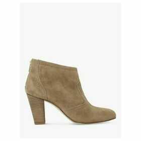 Dune Penney's Suede Western Stacked Heeled Boots