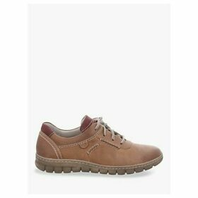 Josef Seibel Steffi 7 Lace Up Trainers, Brown