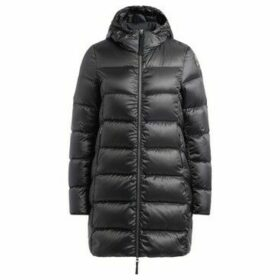 Parajumpers  Marion black coat in feather with hood  women's Jacket in Black