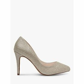 Rainbow Club Erika Shimmer Pointed Court Shoes, Silver