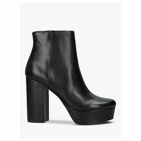 Steve Madden Gratify Leather Ankle Boots, Black