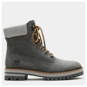 Timberland London Square 6 Inch Boot For Women In Grey Grey, Size 8