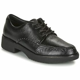 FitFlop  KEELY MICROSTUD BROGUES  women's Casual Shoes in Black