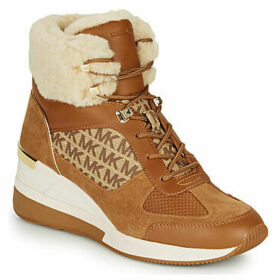 MICHAEL Michael Kors  LIV BOOTIE  women's Shoes (High-top Trainers) in Brown