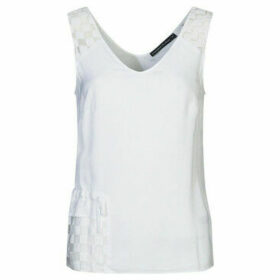 Mado Et Les Autres  Lightweight tank top  women's Blouse in White