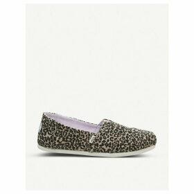 Alpargata canvas shoes