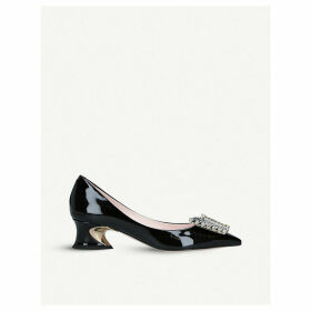 Courbette Vivier patent-leather courts