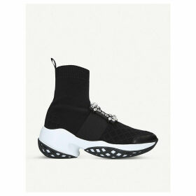Viv Run Sock Strass woven trainers