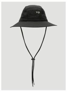 Y-3 Adizero Bucket Hat in Black size M