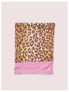Panthera Oblong Scarf - Natural - One Size