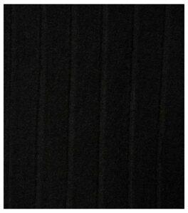 Black Wide Rib Knit Roll Neck Jumper New Look