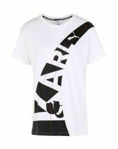 PUMA x KARL LAGERFELD TOPWEAR T-shirts Women on YOOX.COM