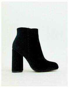 Vero Moda heeled boots-Black
