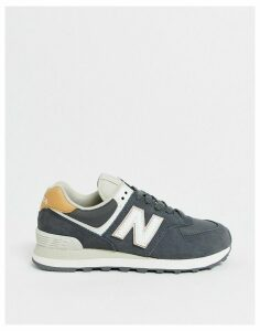 New Balance 574 Winterised trainers in grey