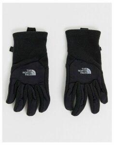 The North Face Denali Etip glove in black