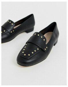 Carvela stud loafer in black