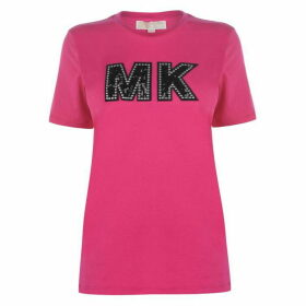 MICHAEL Michael Kors Logo Patch T Shirt