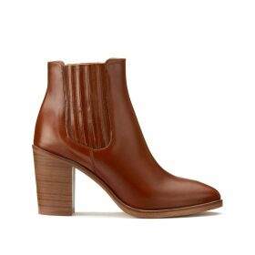 Diomar Leather Boots