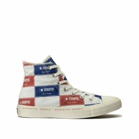 Chuck Taylor All Star Bold Branding Hi Trainers