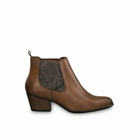 Marie Heeled Leather Boots