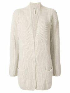 Hermès pre-owned check print T-shirt - Grey
