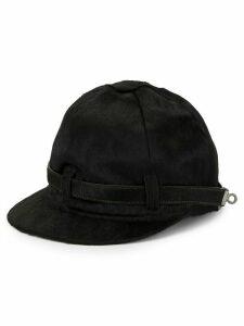 Hermès Pre-Owned logo turnlock cap - Black